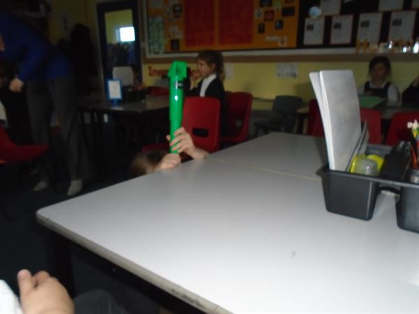 Workshop from Professor Mowbray on Light