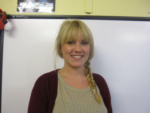 Miss Tyler - Y1 Class Teacher
