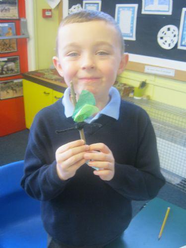 William with his Stickman