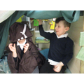 We loved dressing up in the role play area.