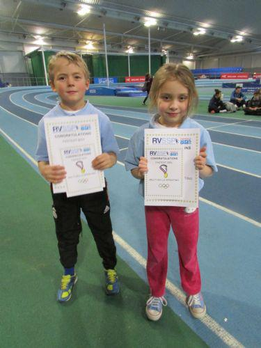 Our superstar strinters with their certificates!