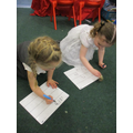 We have been practicing our number formation.