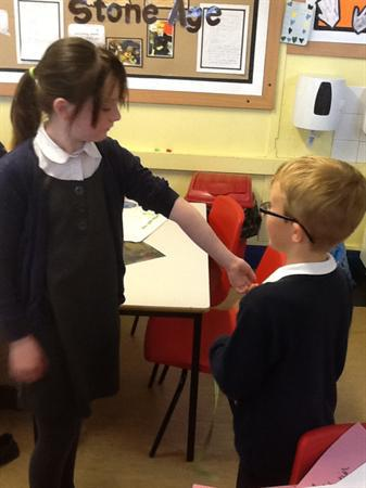 Measuring body sizes ready for our statues