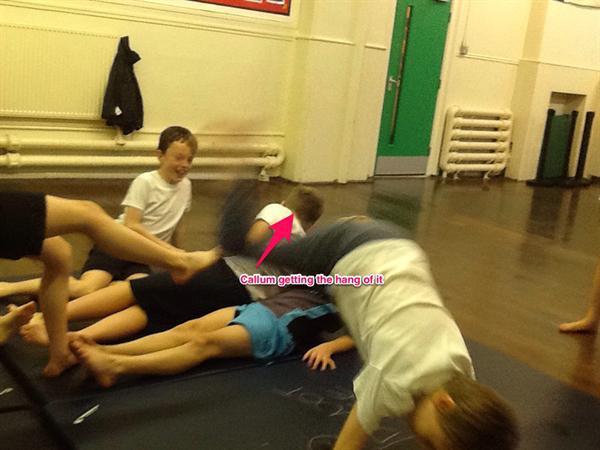 Gymnastics lessons