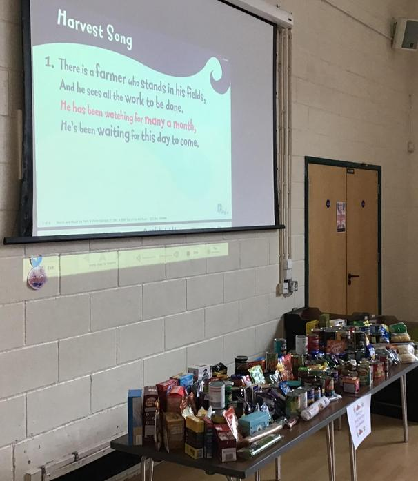 'Harvest Song' Words & Donations!