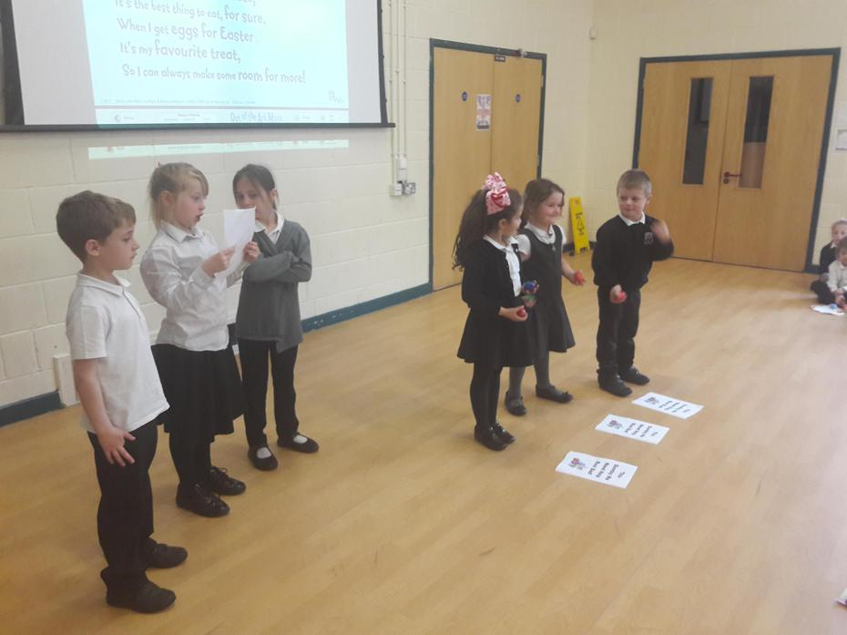Reciting 'Funny Bunny' With Actions!