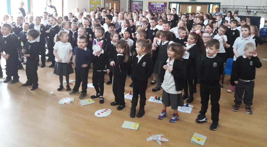 Singing 'Spring Chicken', With All The Actions!