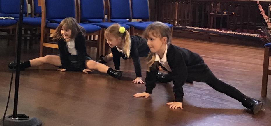 We can do the splits!!