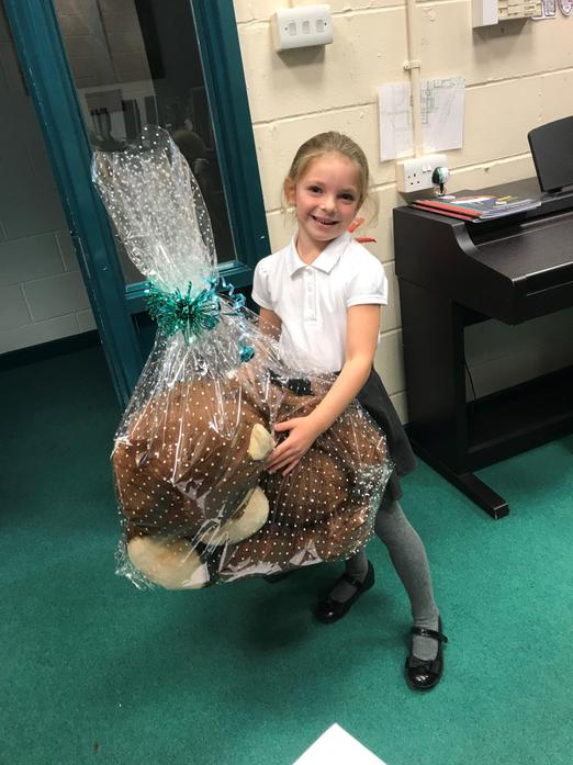 Well done, Isabella!