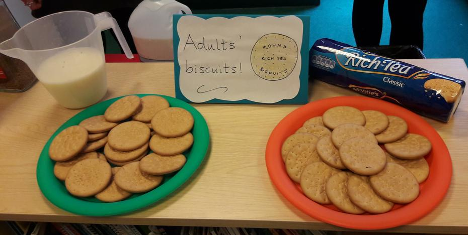 The Adults' Biscuits!