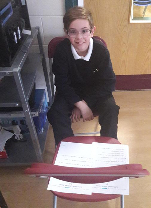 Thank You Noah, Our Music Helper!