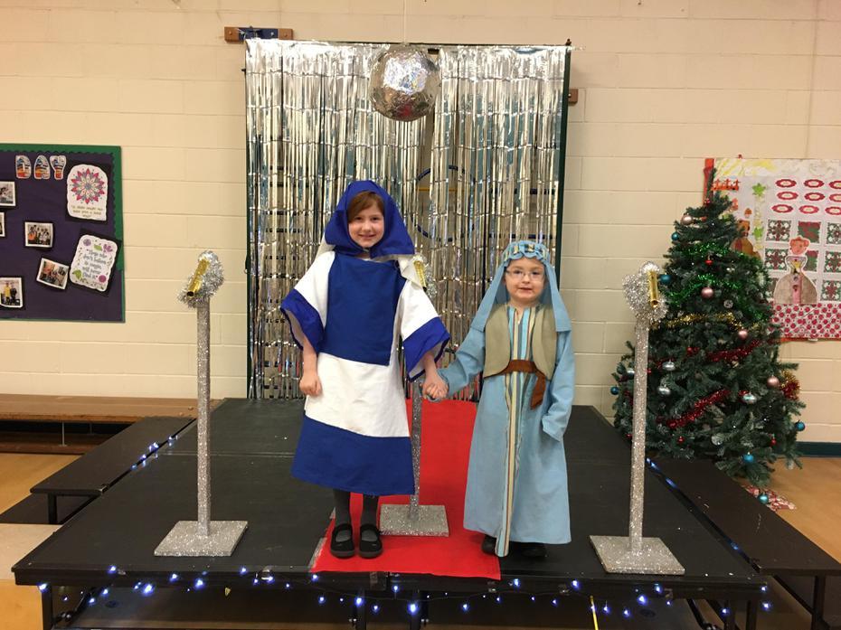 Mary and Joseph!