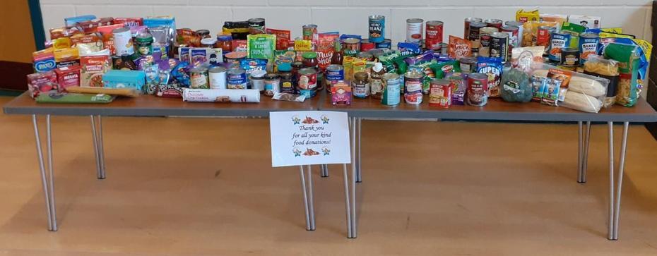 Food Donations!