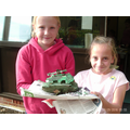 Kaceyleigh and Evie made an excellent tank.