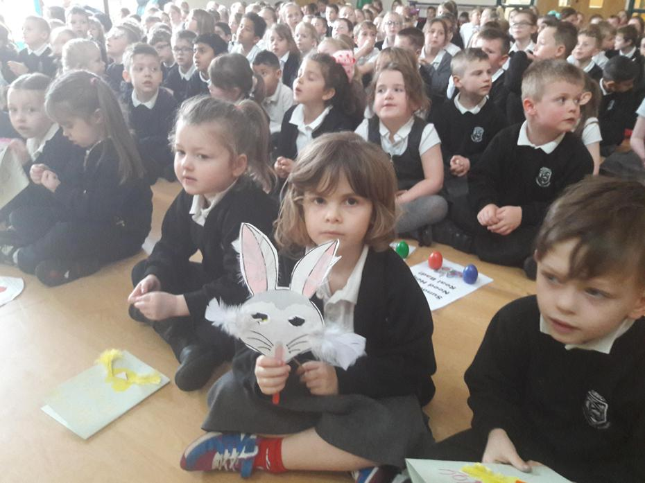 All Set For 'Easter Assembly'!