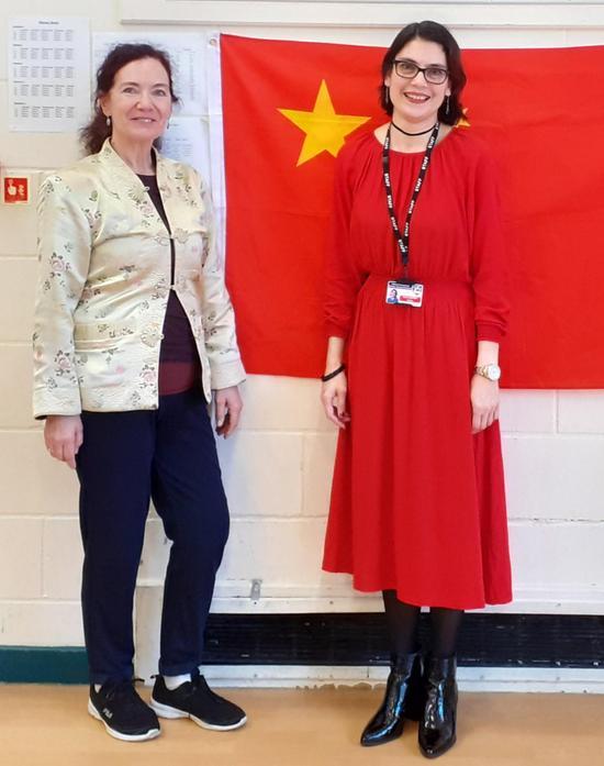 Joanna (Workshop Leader) And Miss Abulkhairi