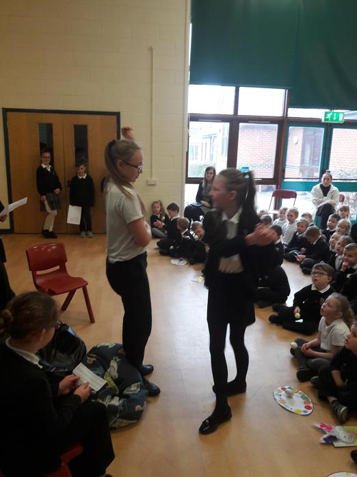 Actors Role Play 'The Three Trees' Story