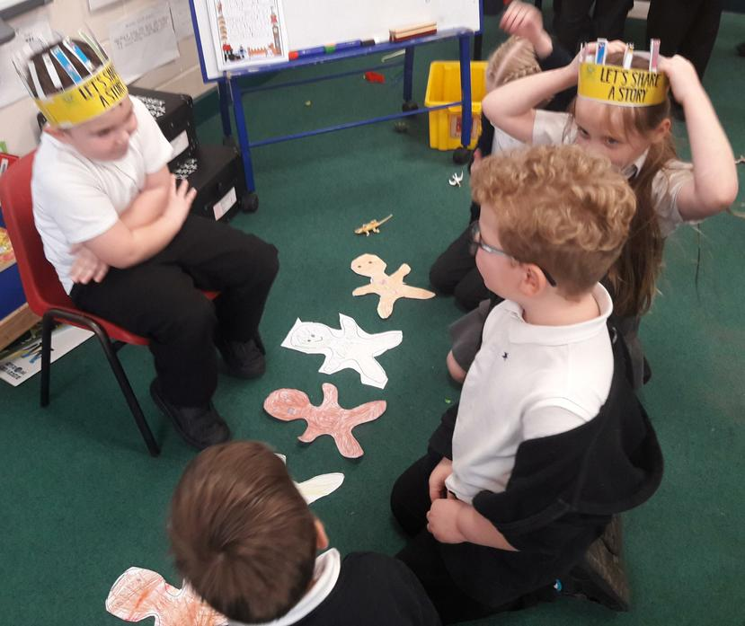 Hotseating the Gingerbread Man with questions!