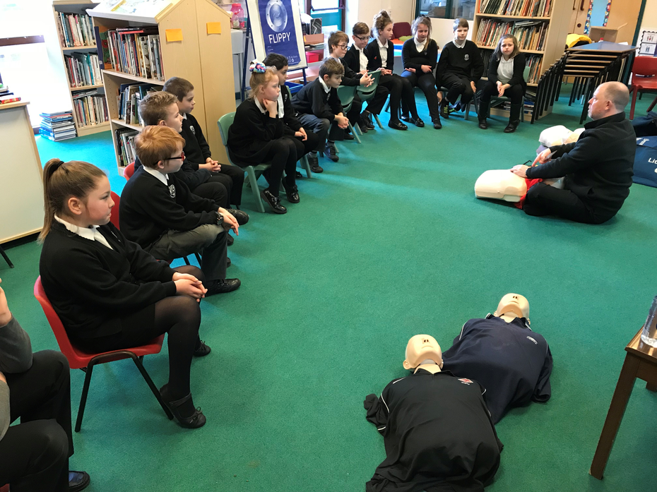 We learned loads at our first aid course!