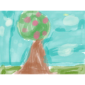 Spring picture created on an Ipad
