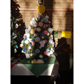 Our 'Pom Pom Tree', St Francis Xmas Tree Festival