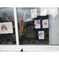 Tyler's window designs!