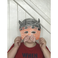 Zac's Viking mask