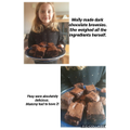 Molly's delicious chocolate brownies. Mmmmmm