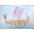 Molly's beautiful longship