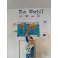 Lots of amazing learning from Alfie at home...