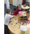 Creating our Chinese dragon!