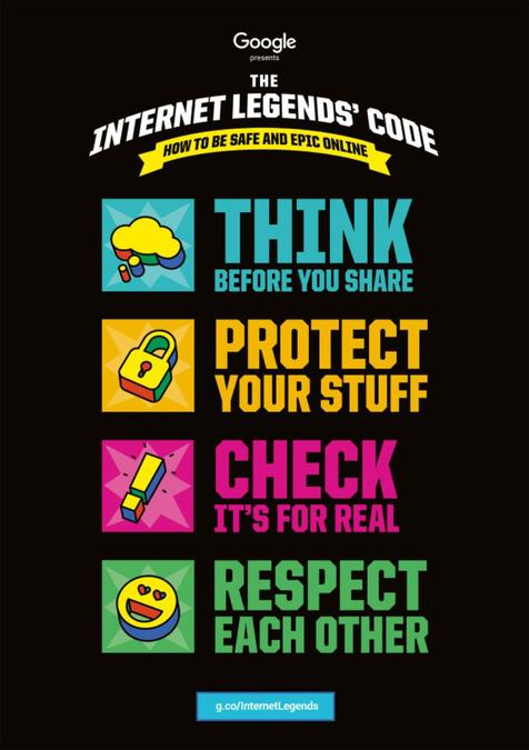 Internet Legend Code - 4 Key Pillars