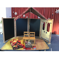 The amazing set created by our children!