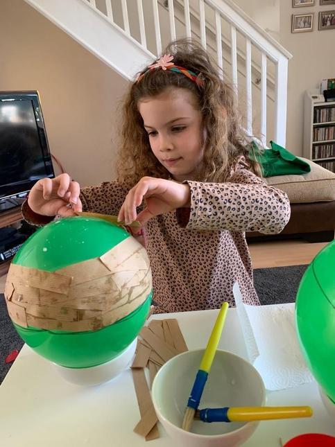 We have made a beautiful Aboriginal bowl