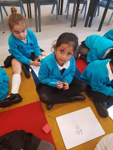Practising Writing our Tricky Words