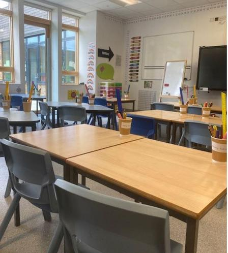 Our desks