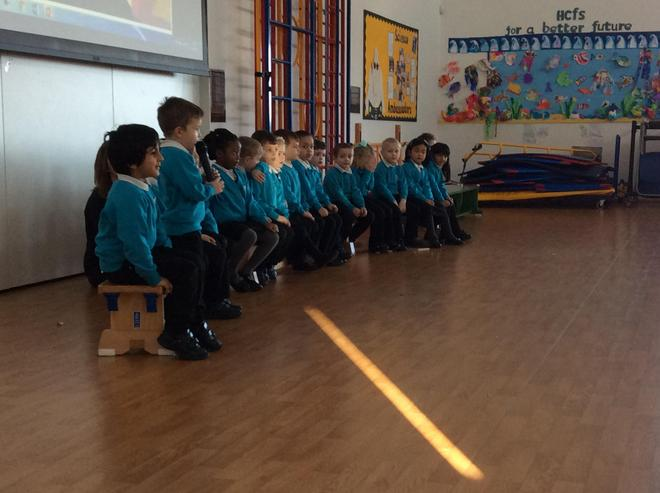 Well done Rabbits!! An Amazing Class Assembly!