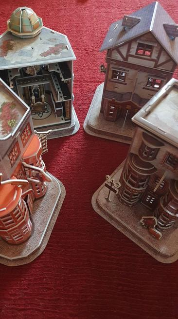Harry Potter houses by Martha