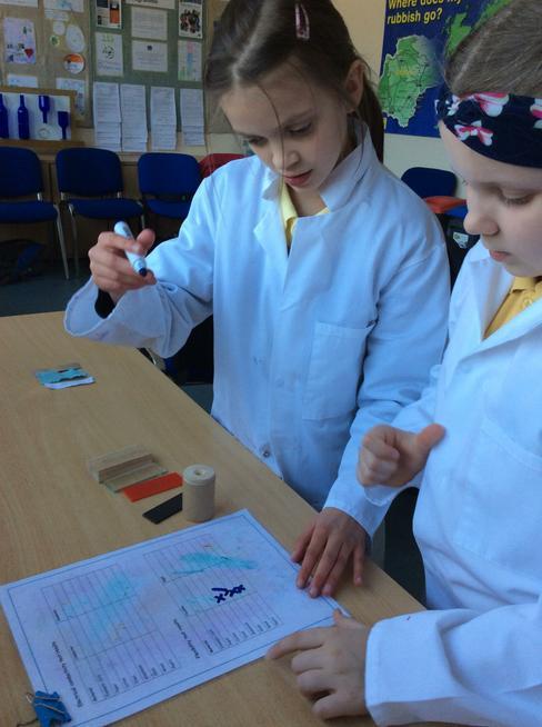 Being scientists!
