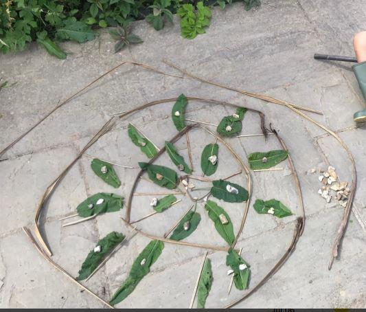 Inspired by Andy Goldsworthy