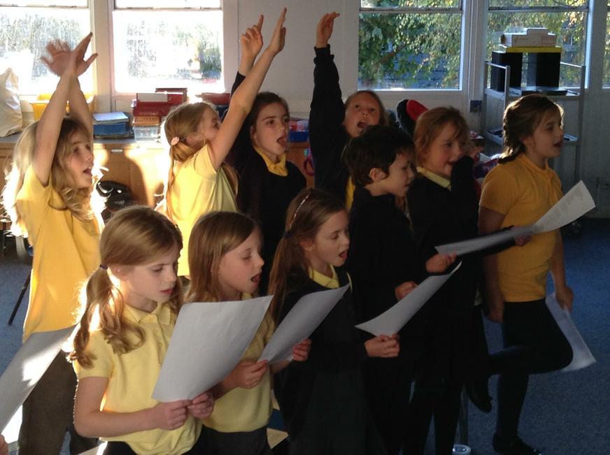 Choir after school club