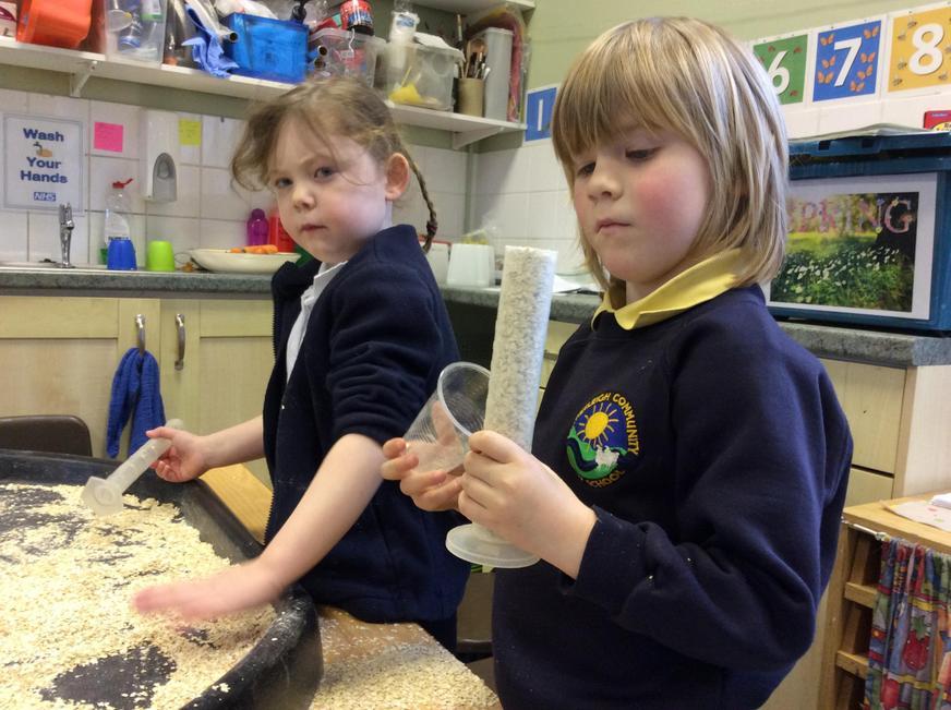 Capacity using porridge