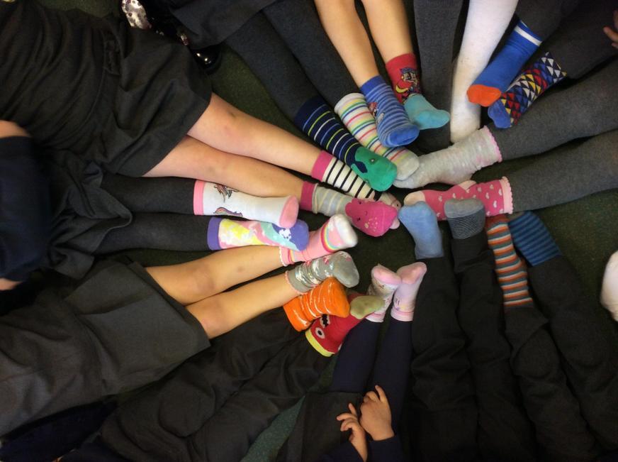 Odd sock day-anti bullying week