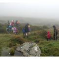 Despite the Dartmoor mist is was a great day.