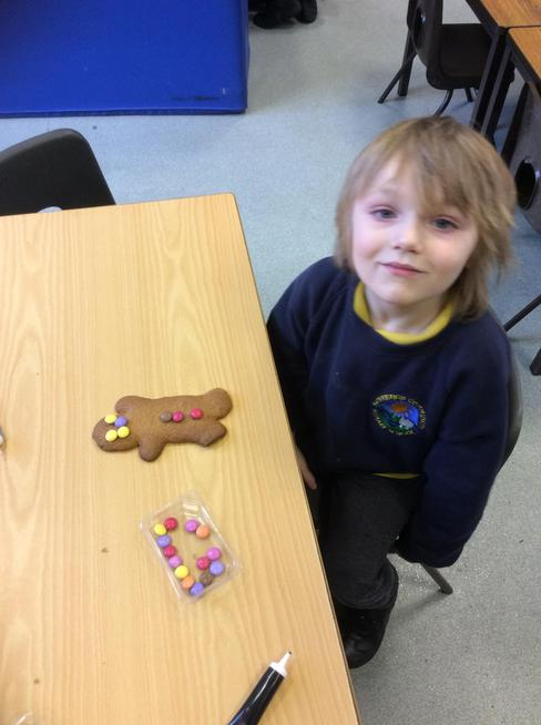 Chestnuts made Fairtrade gingerbread men