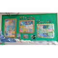 Our 3 collaborative Monet paintings.