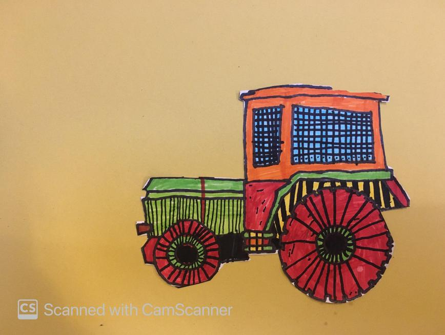 Ted's tractor