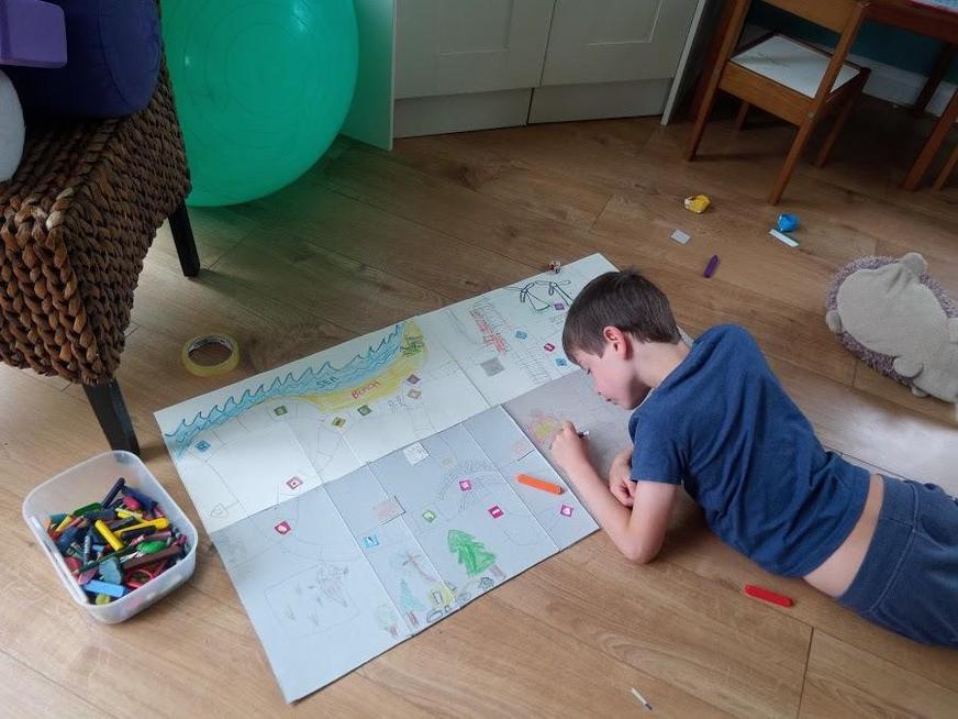 Designing his Environmental game
