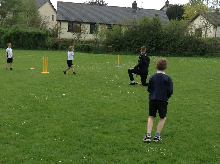 Summer Multi skills with Craig. Year 3 and 4