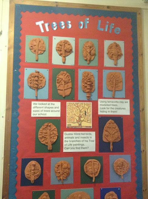 Clay trees KS2